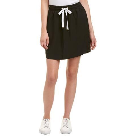 Lilla P Linen-Blend A-Line Skirt