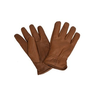 StS Ranchwear Western Gloves Adult Water Resistant Brown
