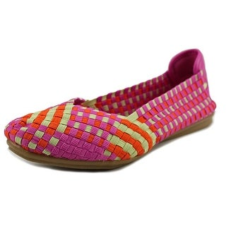 Easy Spirit e360 Gibby W Round Toe Canvas Flats