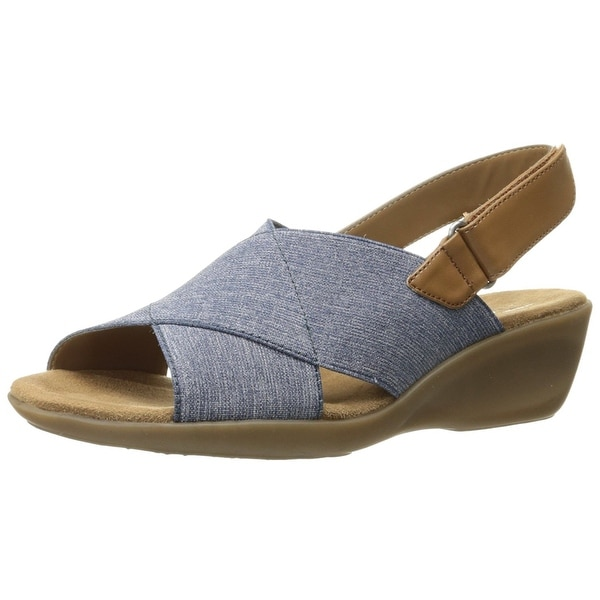 84ff9fd667da Shop Aerosoles Women s Badlands Wedge Sandal - Free Shipping On ...