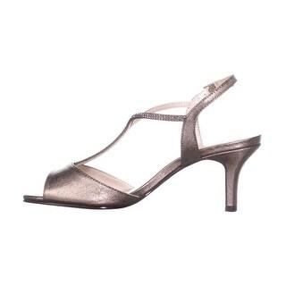 Caparros Womens Delicia Open Toe Formal T-Strap Sandals
