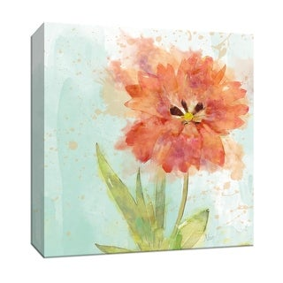 """PTM Images 9-147117  PTM Canvas Collection 12"""" x 12"""" - """"Splash of Summer II"""" Giclee Flowers Art Print on Canvas"""
