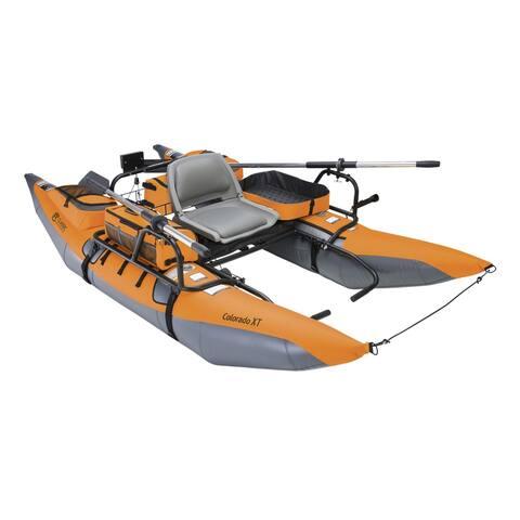 Classic Accessories 69774 Colorado XT Pontoon Boat, Pumpkin and Grey