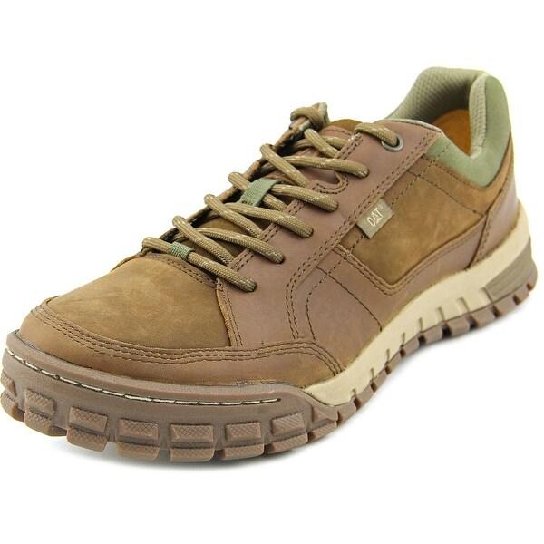 Caterpillar Sentinel Men Round Toe Leather Brown Walking Shoe