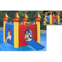 Water Sports Inflatable Cool Castle Floating Swimming Pool Toy - Multi