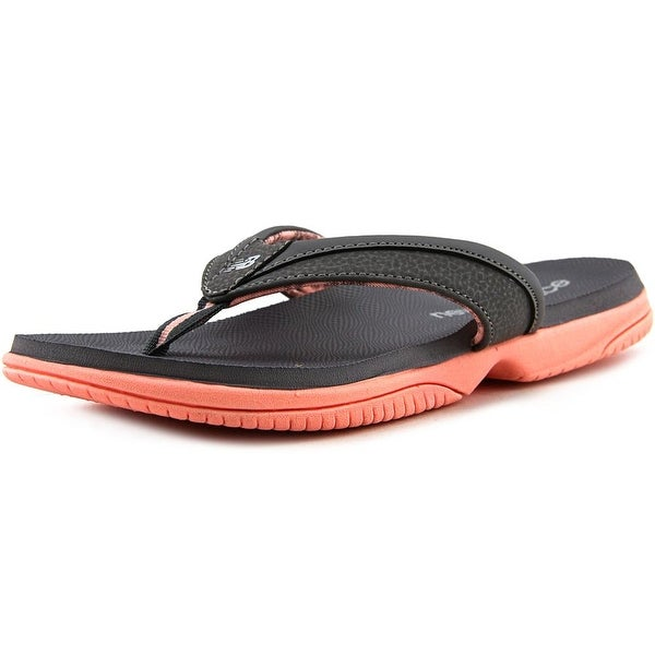 New Balance W6090 Women Open Toe Synthetic Gray Thong Sandal