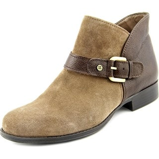 Naturalizer Jarrett Women W Round Toe Suede Brown Ankle Boot