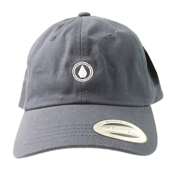 06da92b0446 Shop Volcom NEW Navy Blue Men s Papa Dad Classic Yupoong Adjustable  Baseball Cap - Free Shipping On Orders Over  45 - Overstock.com - 18947865