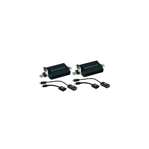 SM SD Tri Card Reader With Adapters for Iphone and Android (2-Pack) Memory Card Reader With Adapters