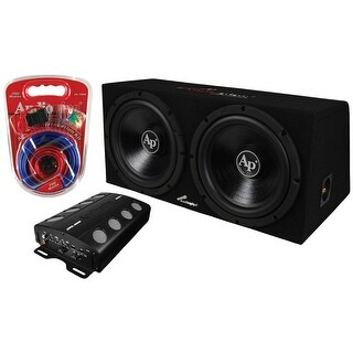 Audiopipe 2000W Super Bass Combo Package