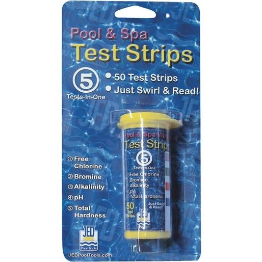 JED Pool Tools 50Ct Test Strips 00-IT490 Unit: EACH