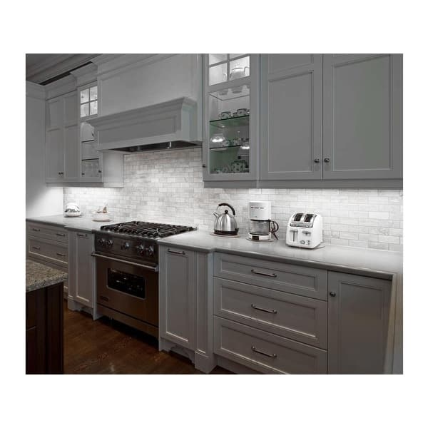6pcs Led Under Cabinet Lighting Kits 12 Linkable Light Bars 5000k Daylight On Sale Overstock 14174755