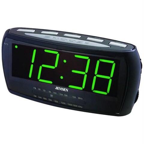 Am/Fm Alarm Clock Radio With Auto Time Set