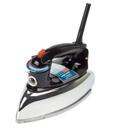 Black & Decker F67E Clothes Iron, 1100 Watts, Aluminum