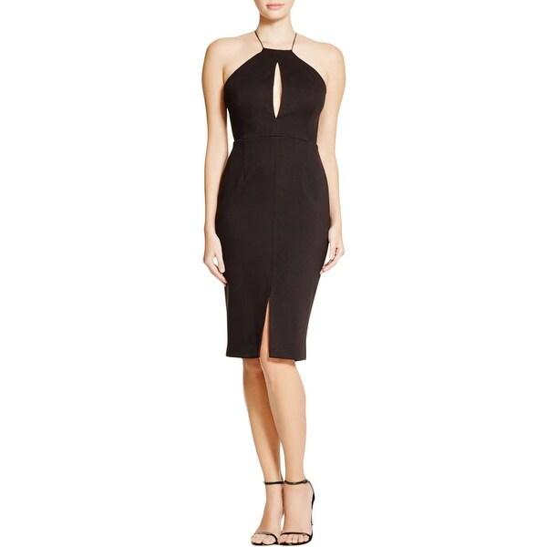 N Nicholas Womens Evening Dress Spaghetti Straps Mini