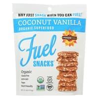 Foodie Fuel Snacks - Coconut Vanilla - Case of 6 - 4 oz.