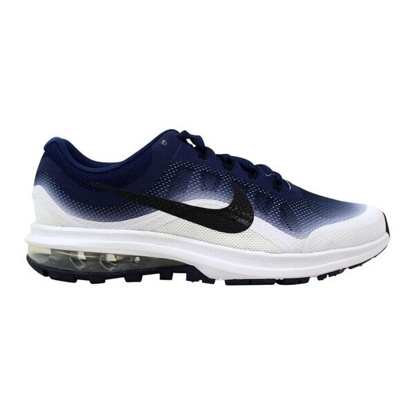 best service b8e4d d1f01 Shop Nike Grade-School Air Max Dynasty 2 Binary Blue/Black ...