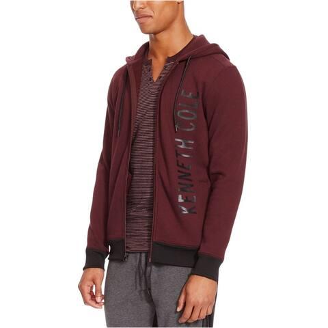 Kenneth Cole Mens Logo Hoodie Sweatshirt