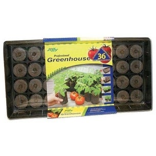 Jiffy J636 Tomato Starter Greenhouse, 60mm