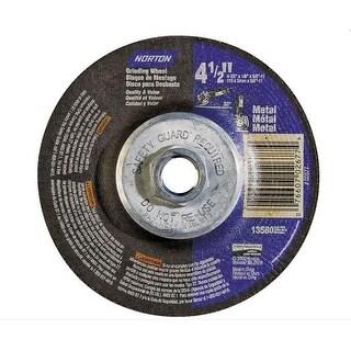 Norton 66252843609 Metal Cut-Off Depressed Center Abrasive Wheel