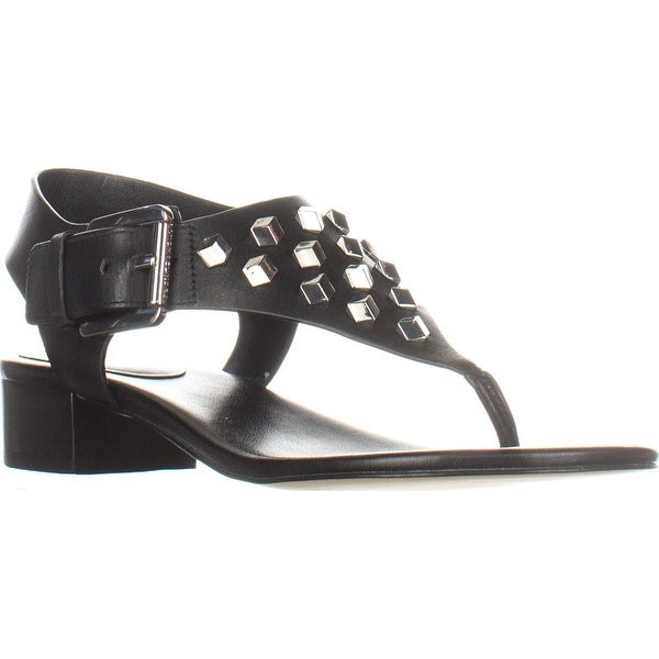 095936545a35 Shop MICHAEL Michael Kors Valencia Thong Studded Sandals
