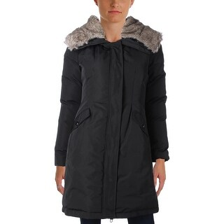 Vince Camuto Womens Parka Duck Down Single Vent