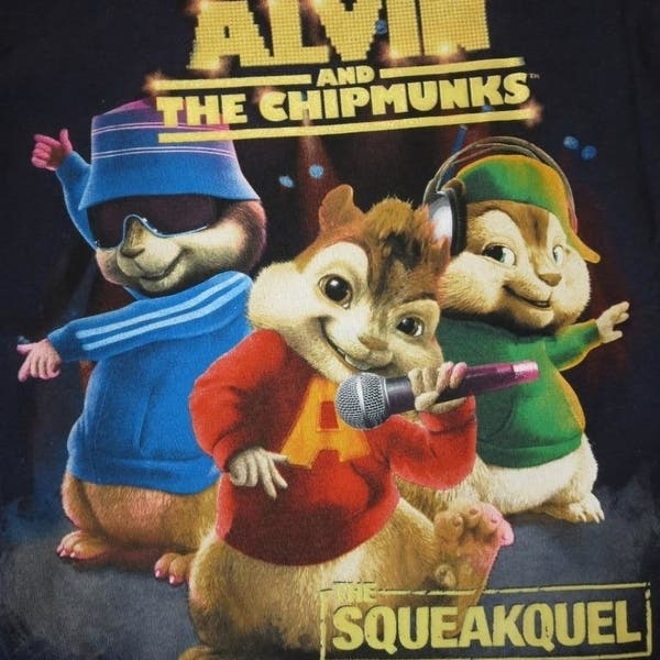 Shop Alvin And The Chipmunks The Squeakquel Kids Medium M 5 6