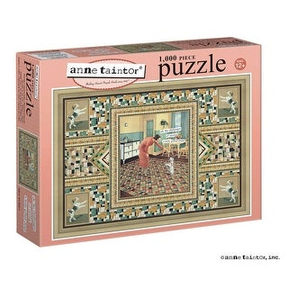 """Gifted Child 1,000 Piece Vintage Jigsaw Puzzle - 27"""" X 19"""" - MultiColor"""