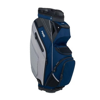 New Ping 2018 Pioneer Golf Cart Bag (Navy / Silver) - navy / silver