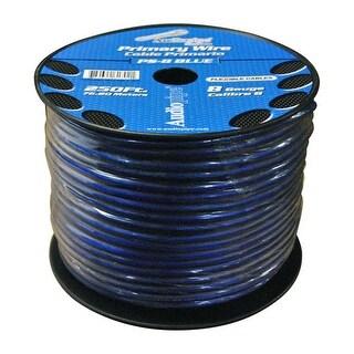 Audiopipe Power Wire 8 Gauge Blue 250 ft. roll