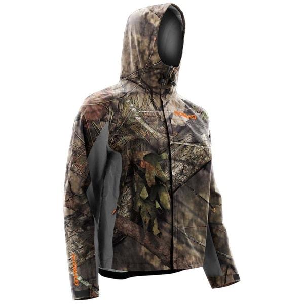 Nomad CYA Mossy Oak Break Up Country X-Large Packable Rain Hoodie Jacket