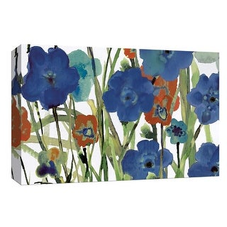 """PTM Images 9-148154  PTM Canvas Collection 8"""" x 10"""" - """"Picking Flowers"""" Giclee Flowers Art Print on Canvas"""