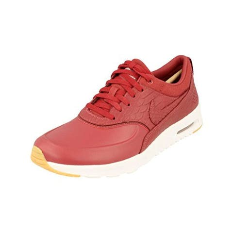 Nike Womens Air Max Thea PRM Low Top Lace Up Running Sneaker