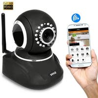 IP Cam / WiFi Security Camera, Full HD 1080p with Remote Surveillance Monitoring, Pan/Tilt Controls, App Download (Black)