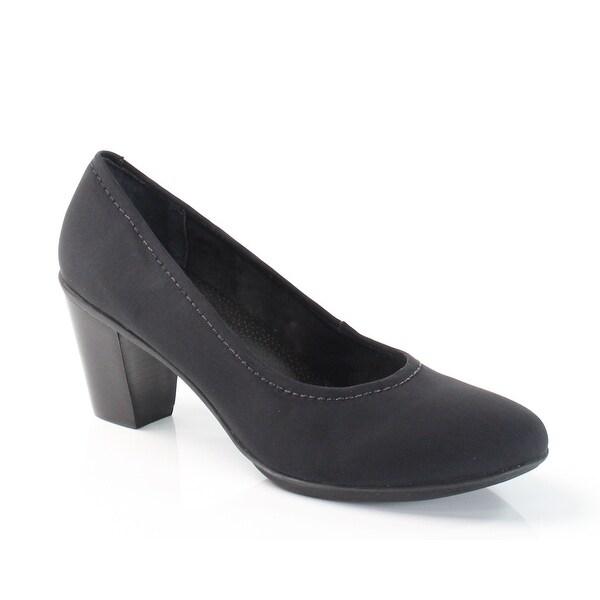 Rose Petals NEW Black Jaclyn Shoes Size 9.5N Classics Heels