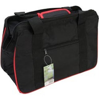 "18""X10""X12"" Black & Red - Janetbasket Eco Bag"