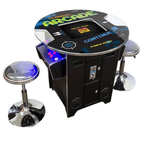 """Creative Arcades 412 Classic Games 29""""H Pub Table Arcade Machine"""