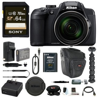 Nikon Coolpix B700 Digital Camera with 64GB and Accessory Kit
