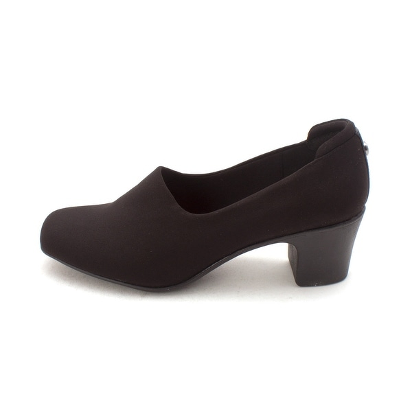 Anne Klein Womens Voyage Square Toe Classic Pumps - 6