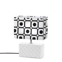 Geometric Pop Art Table Lamp