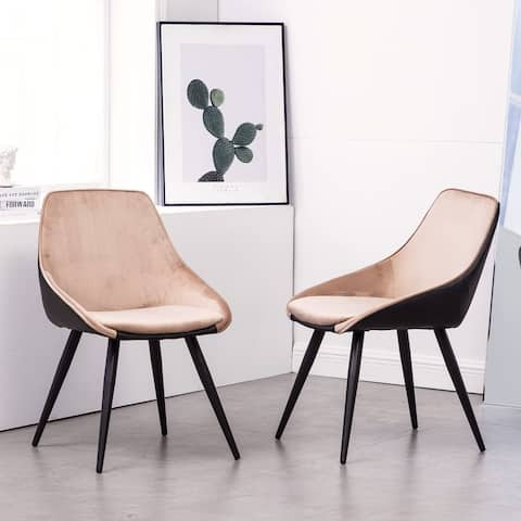 Carson Carrington Ygne PU Leather Upholstered Dining Side Chair (Set 2)