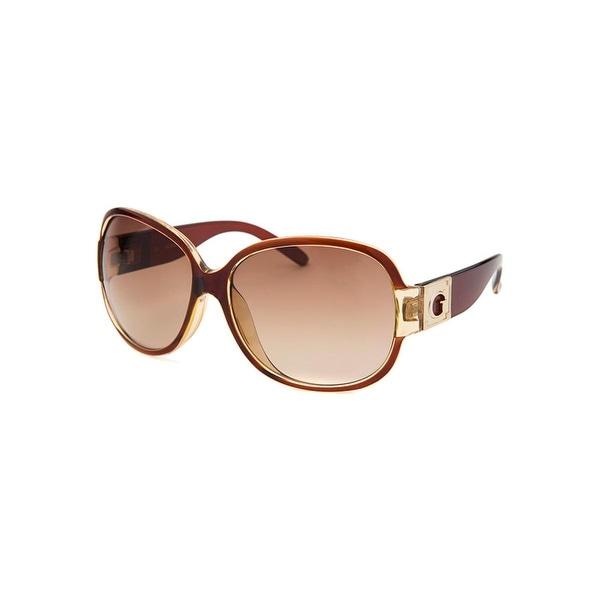 Guess Womens Signature Square Designer Sunglasses