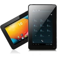 Indigi® 7.0inch 2-in-1 SmartPhone and TabletPC Dual-Core 2Sim Android 4.2 + WiFi + Bluetooth Sync + Google Play Store - Black