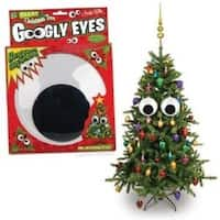 "Christmas Tree 7"" Giant Googly Eyes - Multi"