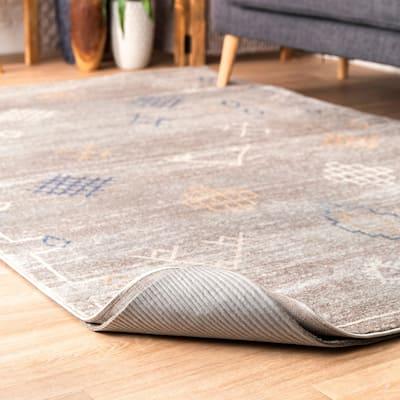 nuLOOM Grey Felt Premium Eco-friendly Non-slip Reversible Rug Pad