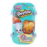 Shopkins 2 Pack in Counter Display - Series 3 - multi