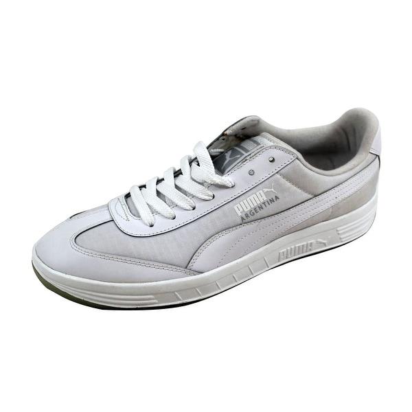 Puma Men's Argentina Iced White/Gray Violet 357454 01