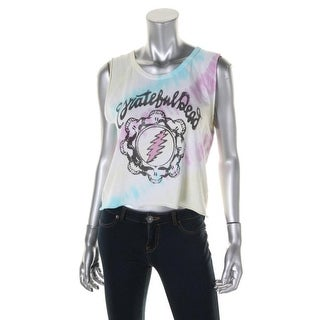 Junkfood Womens Juniors Grateful Dead Graphic Tank Top - S