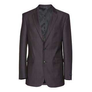 Tommy Hilfiger Gibbs Trim Fit Burgundy Twill Sportcoat 36 Short 36S Blazer