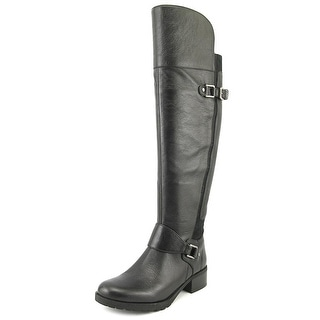 Nine West Wild One   Round Toe Leather  Knee High Boot